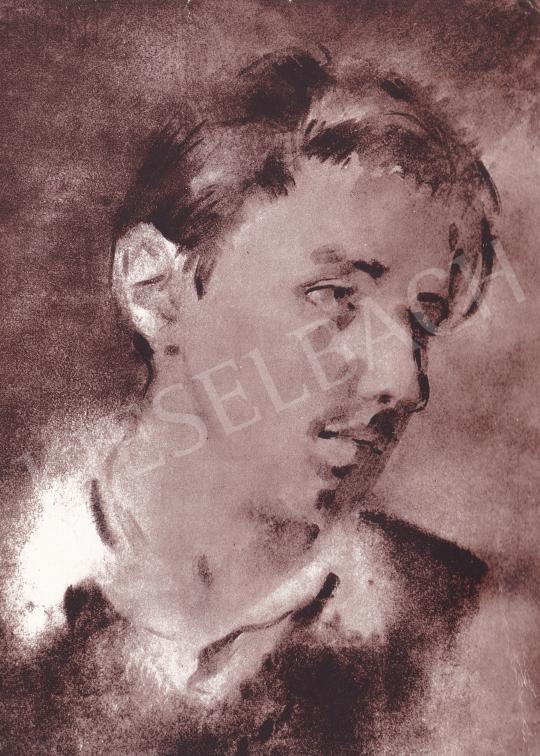 Csebi Pogány István - Csaba festménye