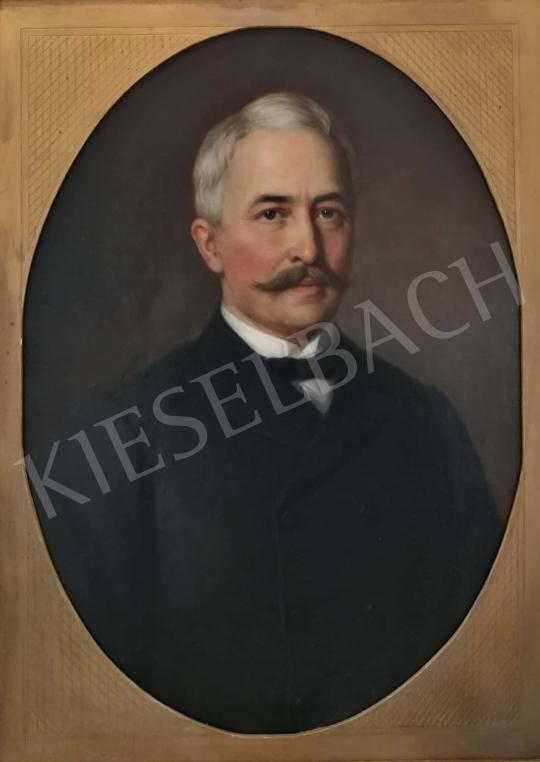 Eladó Barabás Miklós - Férfi portré, 1888 festménye
