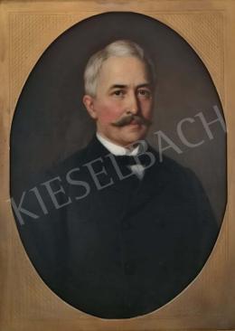 Barabás Miklós - Férfi portré, 1888
