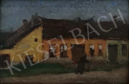 Eladó Fényes Adolf - Esős idő festménye