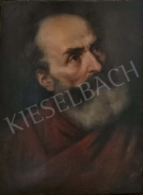 For sale  Lotz, Károly - Portrait of a Man 's painting