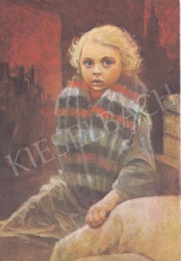 Ék Sándor - Evakuált kislány, 1942