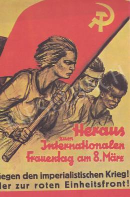 Ék Sándor - Nemzetközi Nőnap plakát, 1931