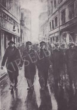 Ék Sándor - Le a fasizmussal!, 1933