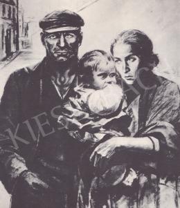 Ék Sándor - Német munkáscsalád, 1936
