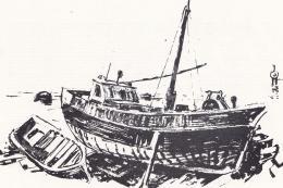Ék Sándor - Hajó