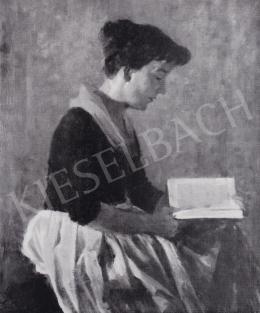 Ék Sándor - Olvasó nő, 1957