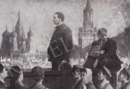Ék Sándor - Lenin és Szamuely találkozás Moszkvában 1919-ben, 1958