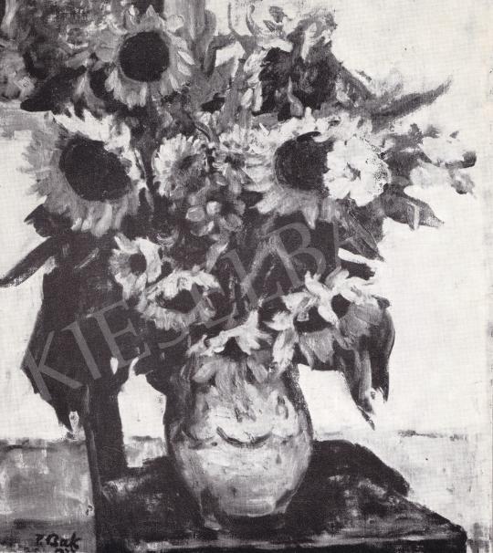 P. Bak János - Csendélet festménye