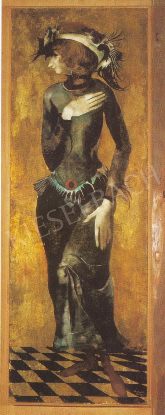 Szász Endre - Éva, 1967 festménye