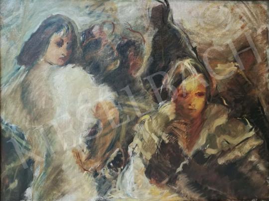 For sale  Reiner, István - Café Scene 's painting