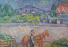 Kmetty János - Nyári nap (Hazafelé a Dunaparton)