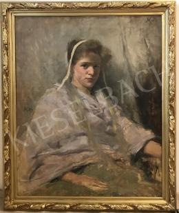 Körösfői Kriesch Aladár - A festő felesége, 1894