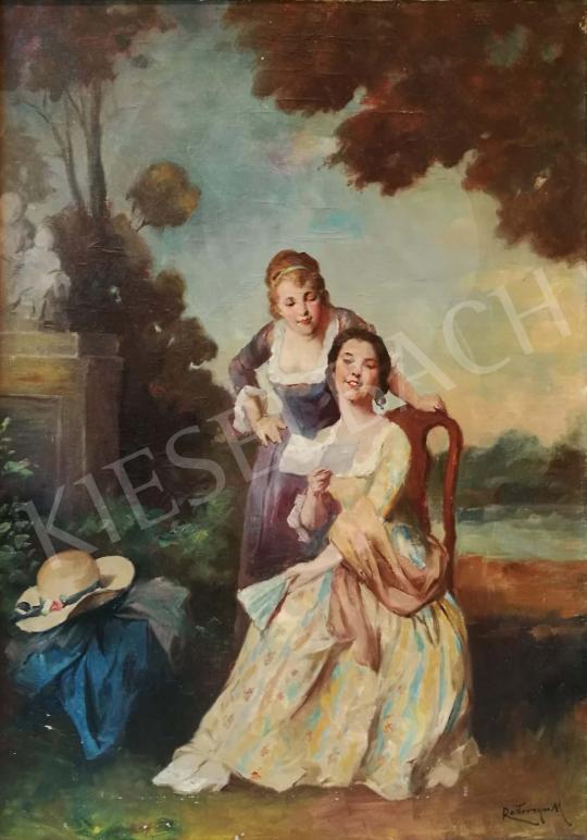 Rottmann Mozart - A szerelmes levél festménye