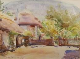 Diósy Antal - Tanyaudvar (Szita Jóska tanyája), 1951