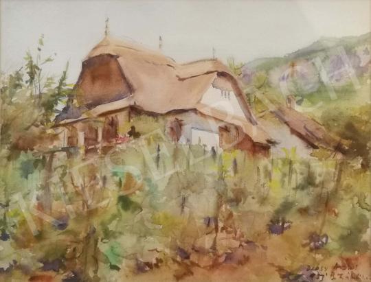 Eladó Diósy Antal - Lábdi hegyi tanya, 1951 festménye