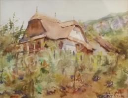 Diósy, Antal (Dióssy Antal) - Farm by Lábdi Hill, 1951