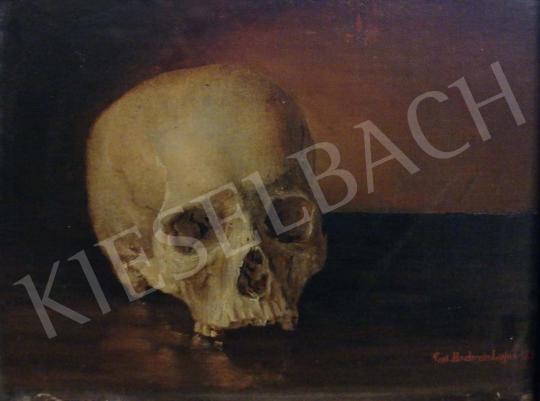 Eladó Hochrein Lajos Károly - Memento mori, 1874 festménye