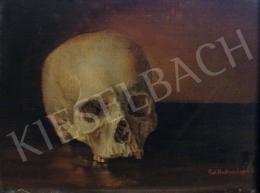Hochrein Lajos Károly - Memento mori, 1874