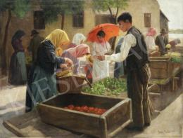 Nagy Ernő - Kisvárosi piac