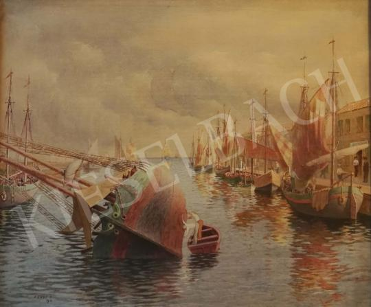 For sale Kende, István - Italian Harbour, 1913 's painting