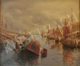Kende, István - Italian Harbour, 1913