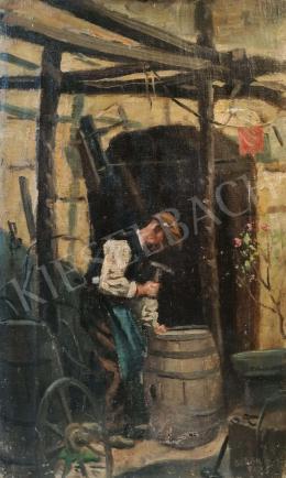 Sebők Margit - Mesterember az udvaron, 1927