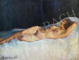 Agricola, Lídia - Lying Female Nude, 1931