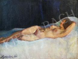 Agricola Lídia - Fekvő női akt, 1931