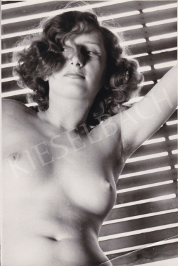 Unknown artist - Female Nude (The Alluring Look), c. 1950 (1950s)