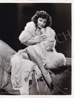 Ismeretlen fotós - Bridget Carr, 1950 körül