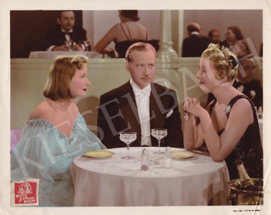 Eladó Ismeretlen fotós - Ninotchka című film plakátja (Greta Garbo, Melvyn Douglas és Ina Claire), 1939 festménye