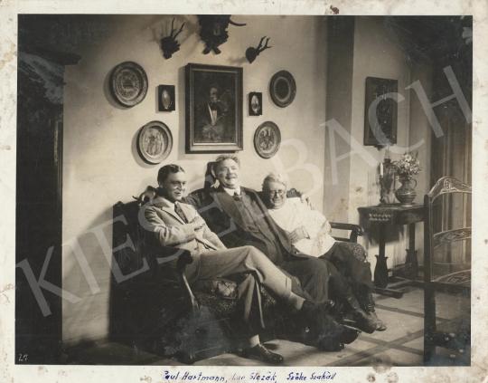 Eladó Ismeretlen fotós - Szőke Szakáll, Paul Hartmann és Leo Slezak - Filmjelenet, 1938 körül festménye