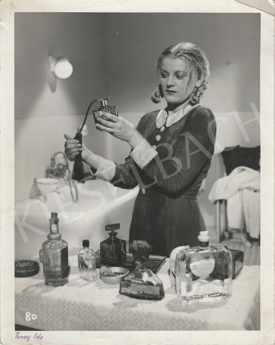 Eladó Inkey Tibor - Turay Ida - Parfümreklámfotó, 1940-41 körül festménye