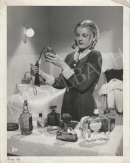 Inkey Tibor - Turay Ida - Parfümreklámfotó, 1940-41 körül