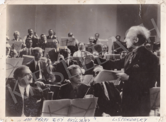 For sale Unknown artist - Leopold Stokowsky and the Orchestra, 1937 's painting