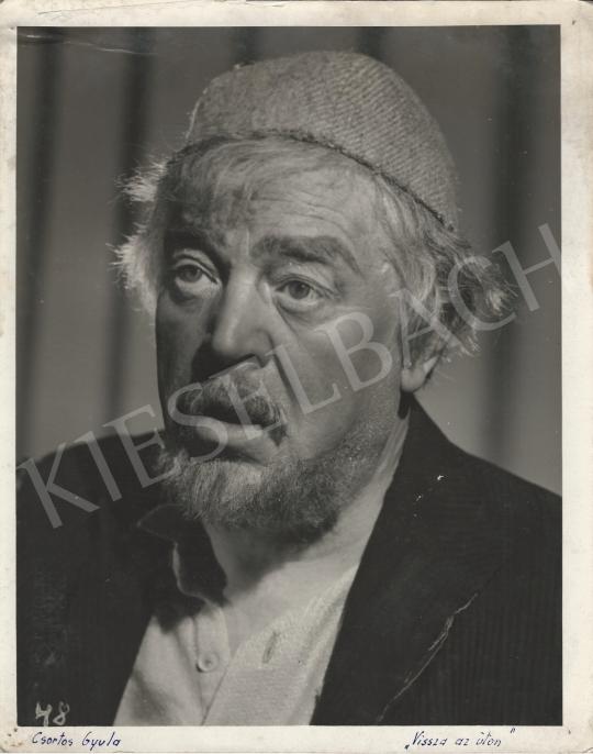 Eladó Inkey Tibor - Csortos Gyula a Vissza az úton c. filmben, 1940 festménye