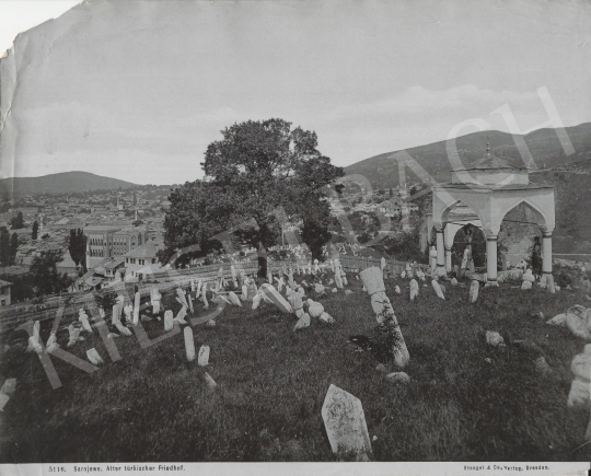 For sale Unknown artist - Sarajewo (The Old Türkish Cemetery), c. 1885 's painting