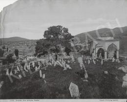 Ismeretlen fotós - Szarajevo (A régi török temető), 1885 körül
