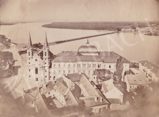 For sale Unknown artist - Esztergom (Víziváros Church with the Donau and the Pontoon Bridge), cca. 1885 's painting