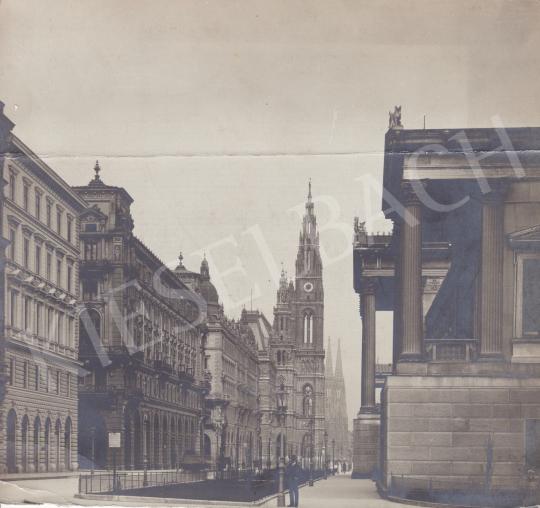 Eladó Ismeretlen fotós - Reichsrathstrasse (Bécs), 1905 körül festménye