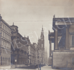 Unknown artist - Reichsrathstrasse (Wien), c. 1905