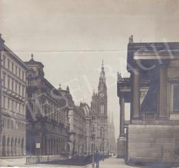 Ismeretlen fotós - Reichsrathstrasse (Bécs), 1905 körül