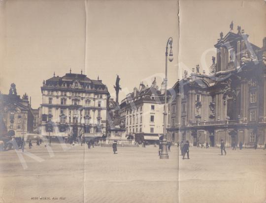 Eladó Ismeretlen fotós - Am Hof (Bécs), 1905 körül festménye