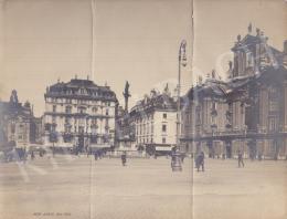 Ismeretlen fotós - Am Hof (Bécs), 1905 körül