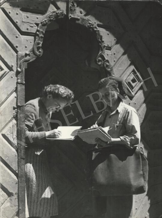Eladó  Szőllősy Kálmán - Ajánlott levél érkezett, 1956 festménye