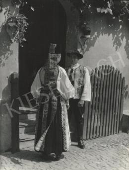 Szőllősy Kálmán - Erdélyi szász népviselet, 1939