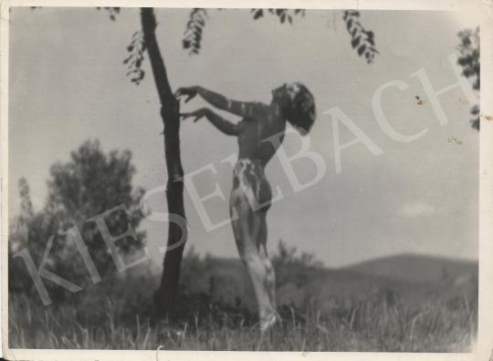 Eladó  Szőllősy Kálmán - Akt fa alatt, 1939 festménye