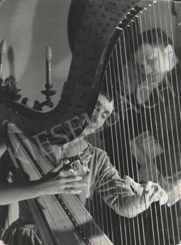 Szőllősy, Kálmán - Harp Player, 1955