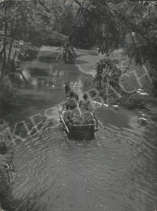 Eladó  Szőllősy Kálmán - Út a patakon át, 1955 festménye